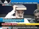 Zulfiqar Mirza Raises Quran On Visit To MQM Chief Altaf Hussain