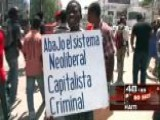 Around The World: Massive Demonstrations In Haiti