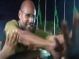 Saif Al-Islam Greets Supporters At Tripoli Hotel