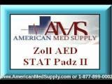 8900-0801-01 ZOLL Stat Padz II