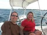 Julianna Rough Choppy Water Sailing