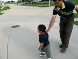 Tinu And Ram Walking Hand In Hand