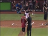 Blind Boy Throws Strike At Diamondbacks Opening Pitch