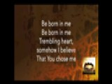Francesca Battistelli - Be Born In Me MARY Slideshow With Lyrics