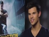 Abduction - Taylor Lautner And Lily Collins Interview