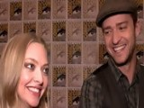 Access Hollywood - Justin Timberlake & Amanda Seyfried Make 'Time' For Comic-Con 2011