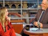 David Letterman - Kaley Cuoco Dated A Hoarder - Season 19 - Episode 3553