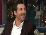 David Letterman - Patrick Dempsey On Michael Bay - Season 18 - Episode 3516