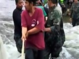 Floods In Thailand Threaten Bangkok