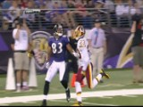 Lee Evans Catches First TD As A Raven