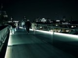 Millennium Bridge London, Last Night. GH2 Hacked 55mbits, ISO1250+ 25mm 1.4f