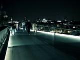 Millennium Bridge London, Last Night. GH2 Hacked 55mbits, ISO1250+ 25mm 1.4f