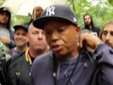 Russell Simmons OWS Zuccotti Park NYC