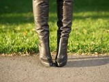 Slouchy Thigh High Boots