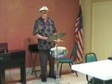 Tampa Baptist Manor's Big Drummer Man
